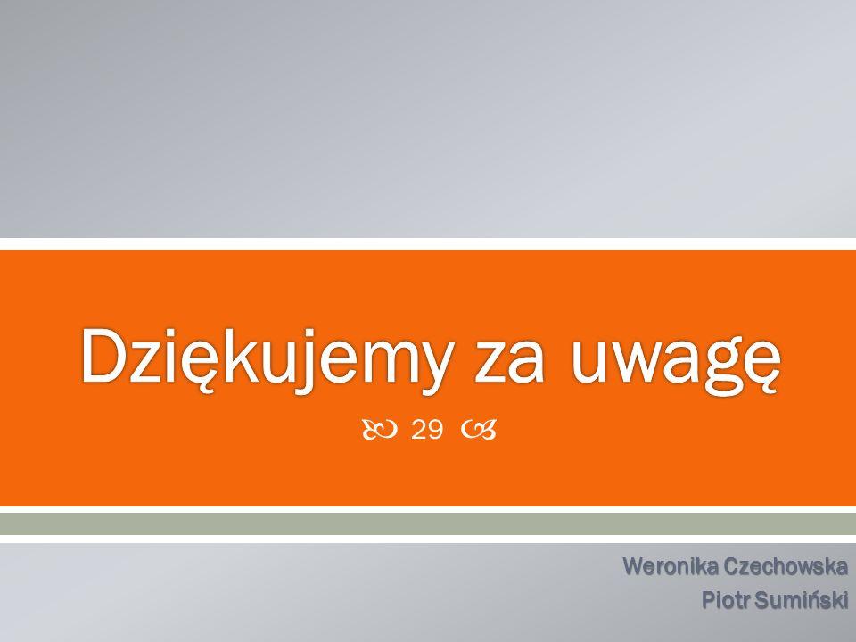 Weronika Czechowska Piotr Sumiński 29