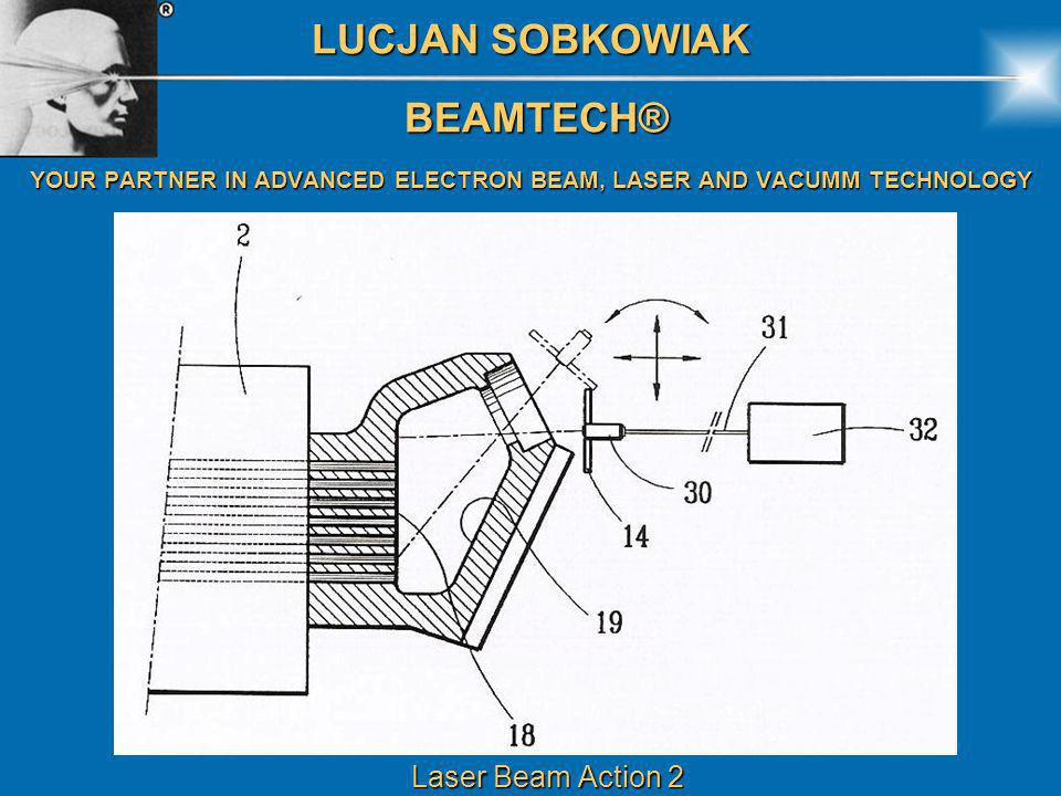 LUCJAN SOBKOWIAK BEAMTECH® BEAMTECH® YOUR PARTNER IN ADVANCED ELECTRON BEAM, LASER AND VACUMM TECHNOLOGY Laser Beam Action 2