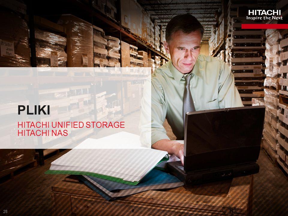 29 OFEROWANE MODELE HNAS 3080 Gold – HNAS 3200 Bronze – AMS 2000 HNAS 3200 2 węzły 40K 1 IOPS per węzeł 4PB max pojemności HNAS 3090 4 węzły 73K 1 IOPS per węzeł 8PB max pojemności 8 węzłów 180K 2 IOPS per węzeł 16PB max pojemności 1 SPECsfs_2008 NFS Benchmark 2 SPECsfs_97 Benchmark.