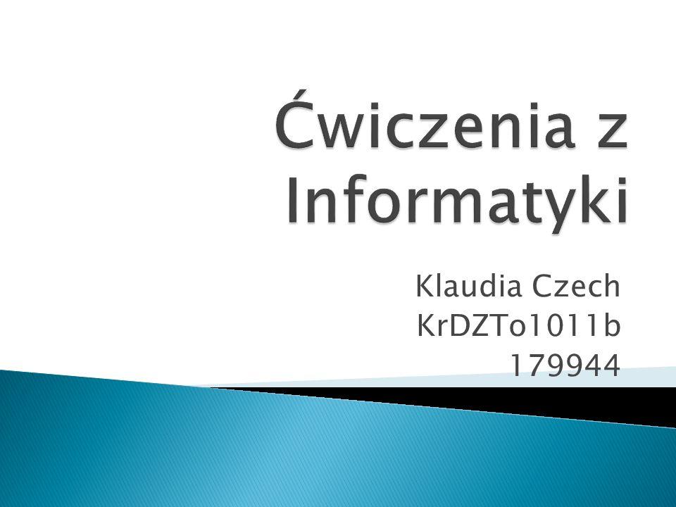 Klaudia Czech KrDZTo1011b 179944