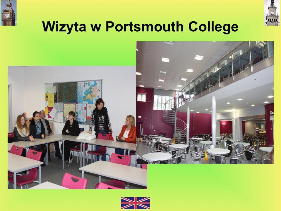 Wizyta w Portsmouth College
