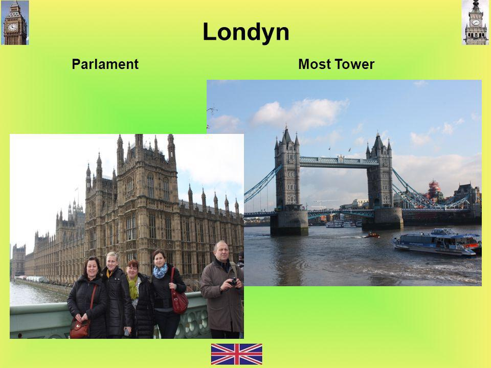 Londyn Parlament Most Tower