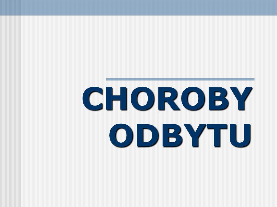 CHOROBY ODBYTU