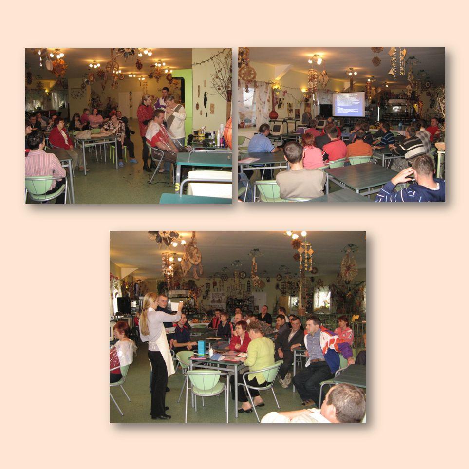 GRUDZIE Ń Ze względu na oszczędności powstałe w trakcie realizacji PCPR w Płocku za zgodą Mazowieckiej Jednostki Wdrażania Programów Unijnych zorganizowało Warsztaty Kompetencji Społecznych i Zawodowych połączone z zabawą andrzejkową, warsztaty odbyły się 2 grudnia 7 grudnia projekt zakończono Konferencją podsumowującą realizację.