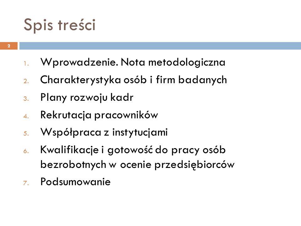 Spis treści 1. Wprowadzenie. Nota metodologiczna 2.