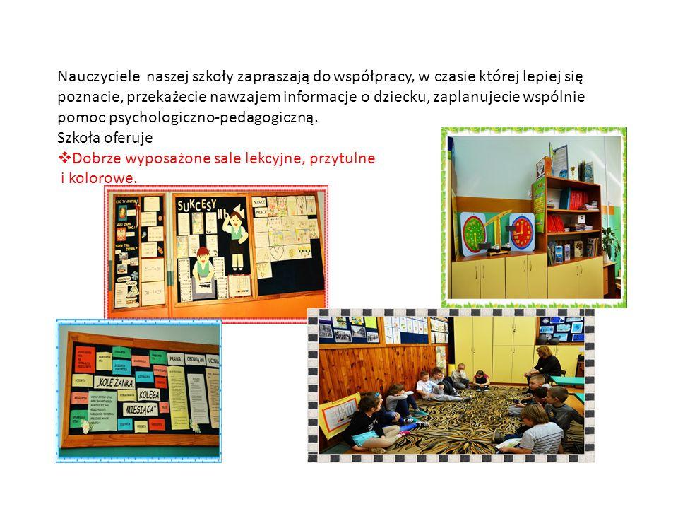 Nauczyciele naszej szkoły zapraszają do współpracy, w czasie której lepiej się poznacie, przekażecie nawzajem informacje o dziecku, zaplanujecie wspólnie pomoc psychologiczno-pedagogiczną.