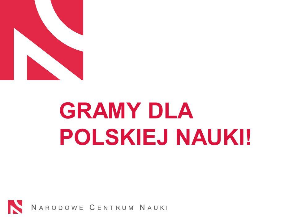 GRAMY DLA POLSKIEJ NAUKI!