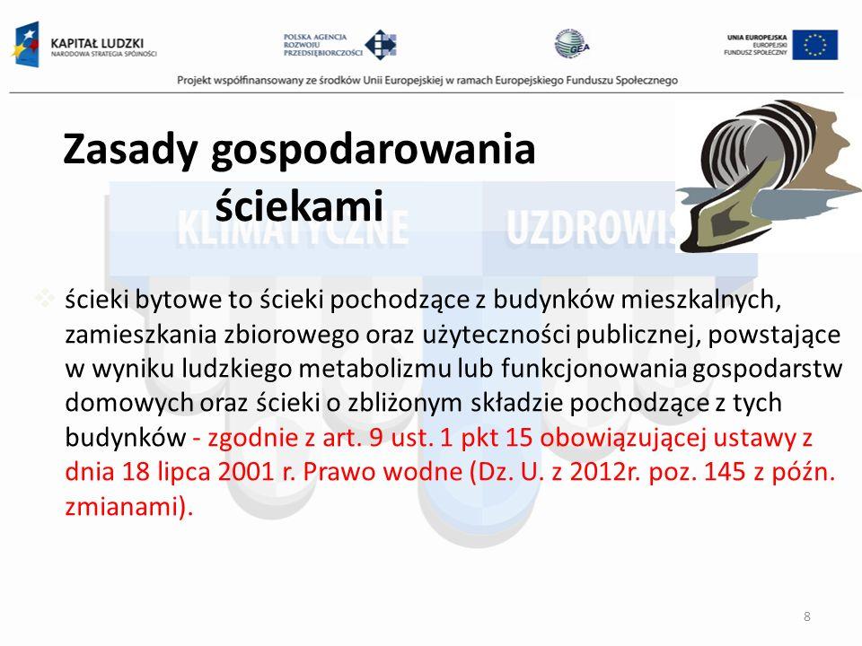 Składanie sprawozdań rocznych do marszałka województwa (do 15 marca po roku rozliczeniowym) 59 Opłaty za odpady