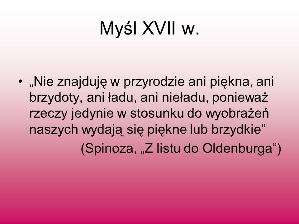 Myśl XVII w.