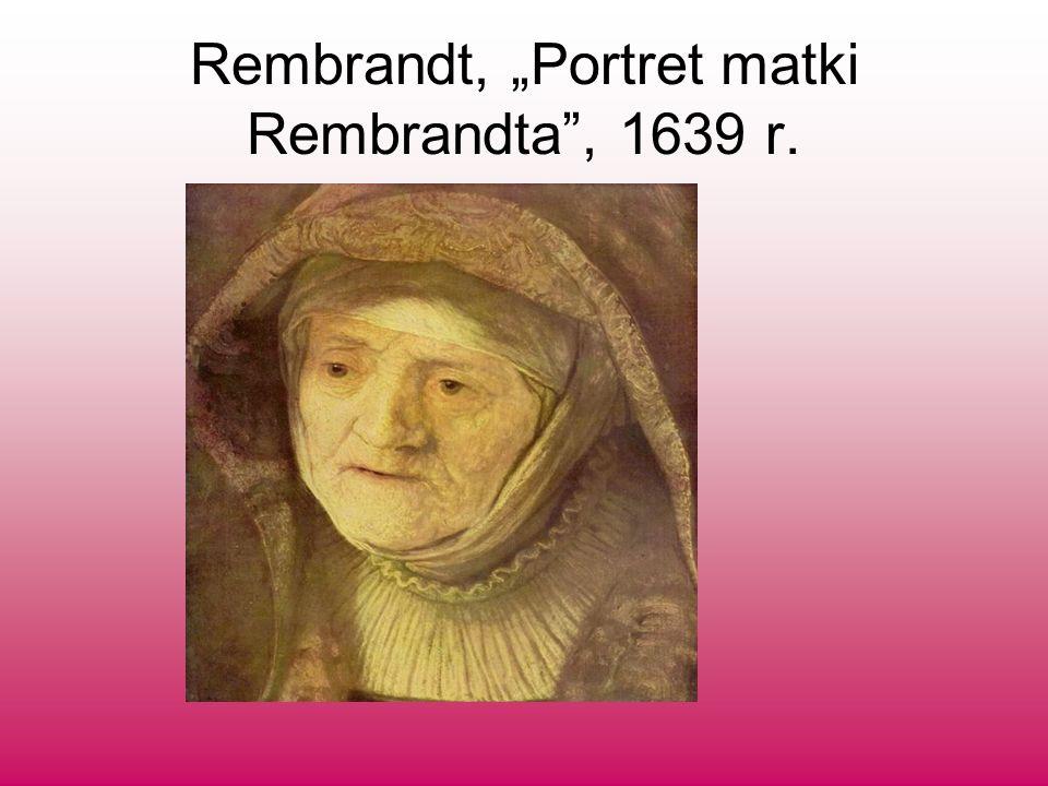 Rembrandt, Portret matki Rembrandta, 1639 r.