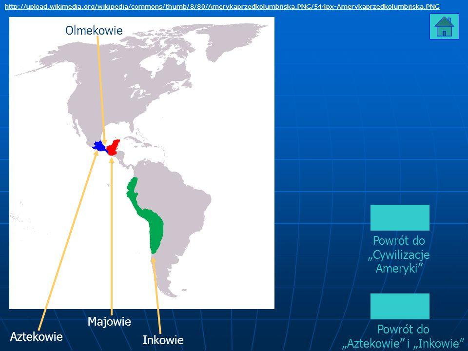 Powrót do Cywilizacje Ameryki http://upload.wikimedia.org/wikipedia/commons/thumb/8/80/Amerykaprzedkolumbijska.PNG/544px-Amerykaprzedkolumbijska.PNG M