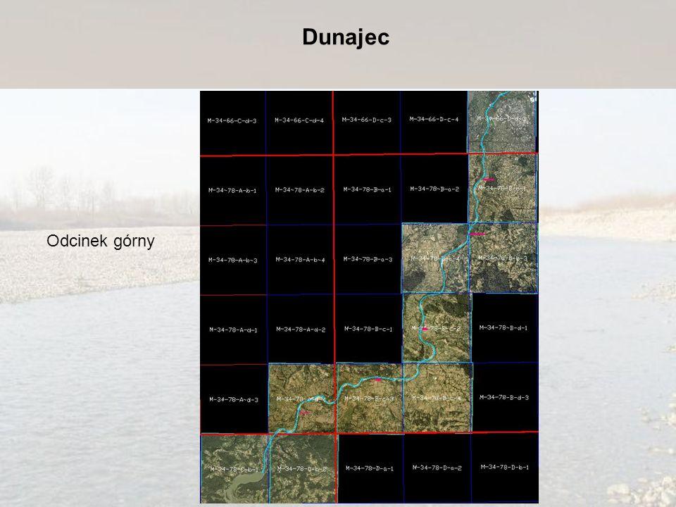 Odcinek górny Dunajec