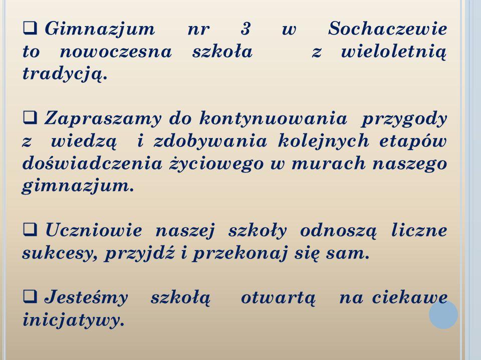 Gimnazjum nr 3 im.Fryderyka Chopina ul.