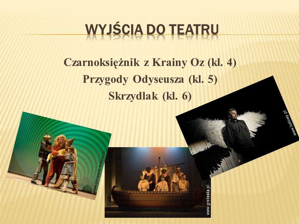 Czarnoksiężnik z Krainy Oz (kl.4) Przygody Odyseusza (kl.