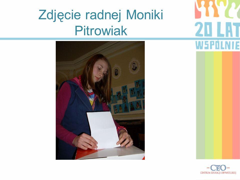 Zdjęcie radnej Karoliny Mikołajczak