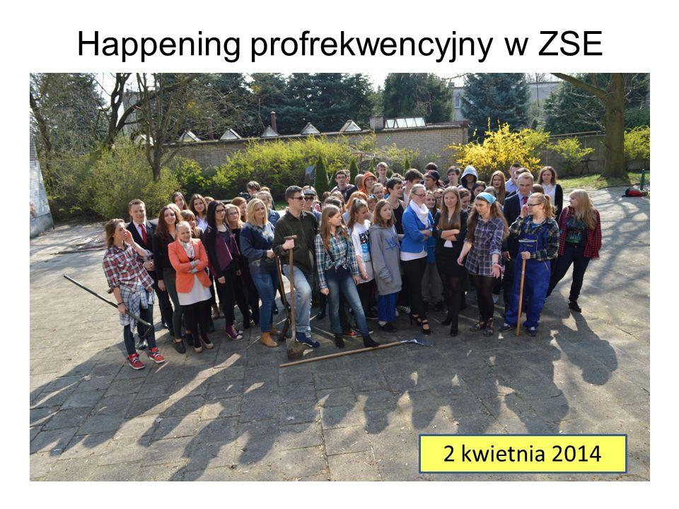 Happening profrekwencyjny w ZSE 2 kwietnia 2014