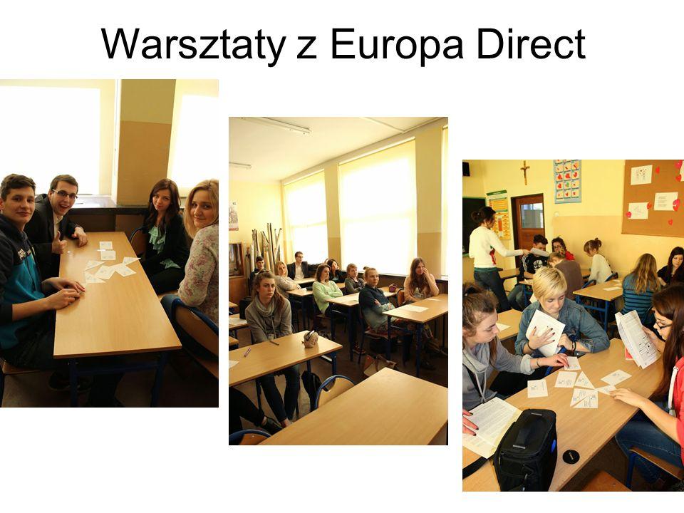 Warsztaty z Europa Direct