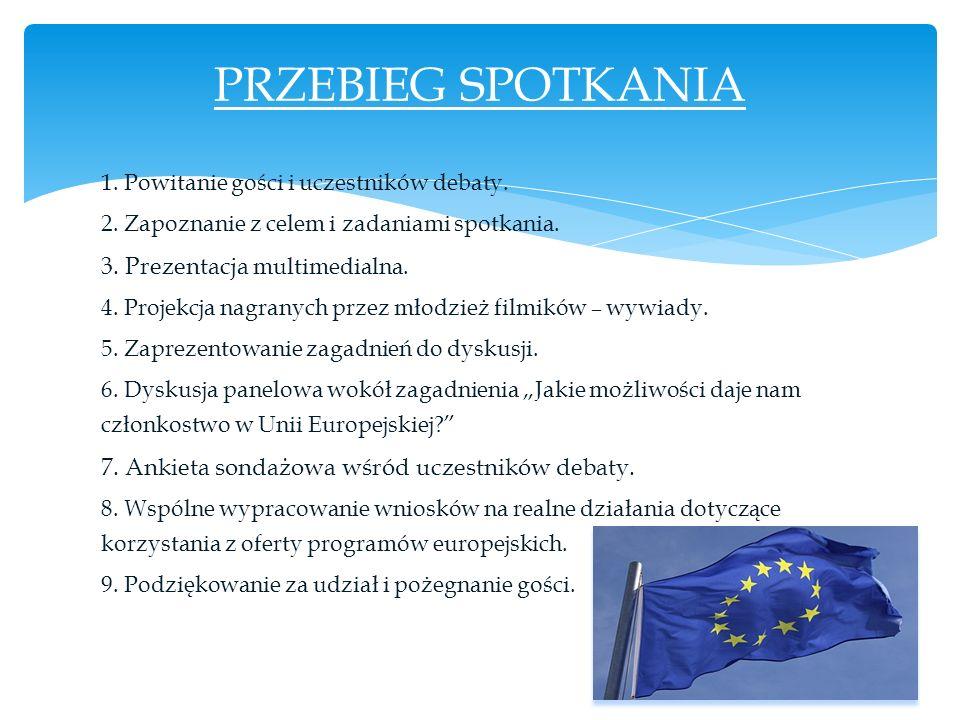 Polska wstąpiła do Unii Europejskiej 10 lat temu.
