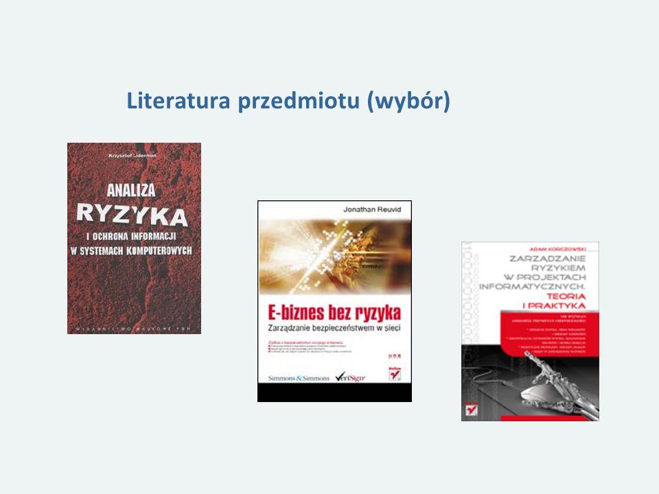 Literatura przedmiotu (wybór)