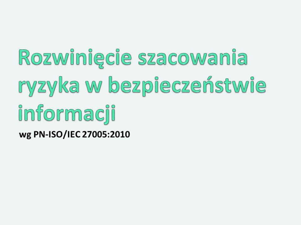 wg PN-ISO/IEC 27005:2010