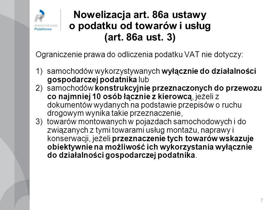 18 Nowelizacja art.