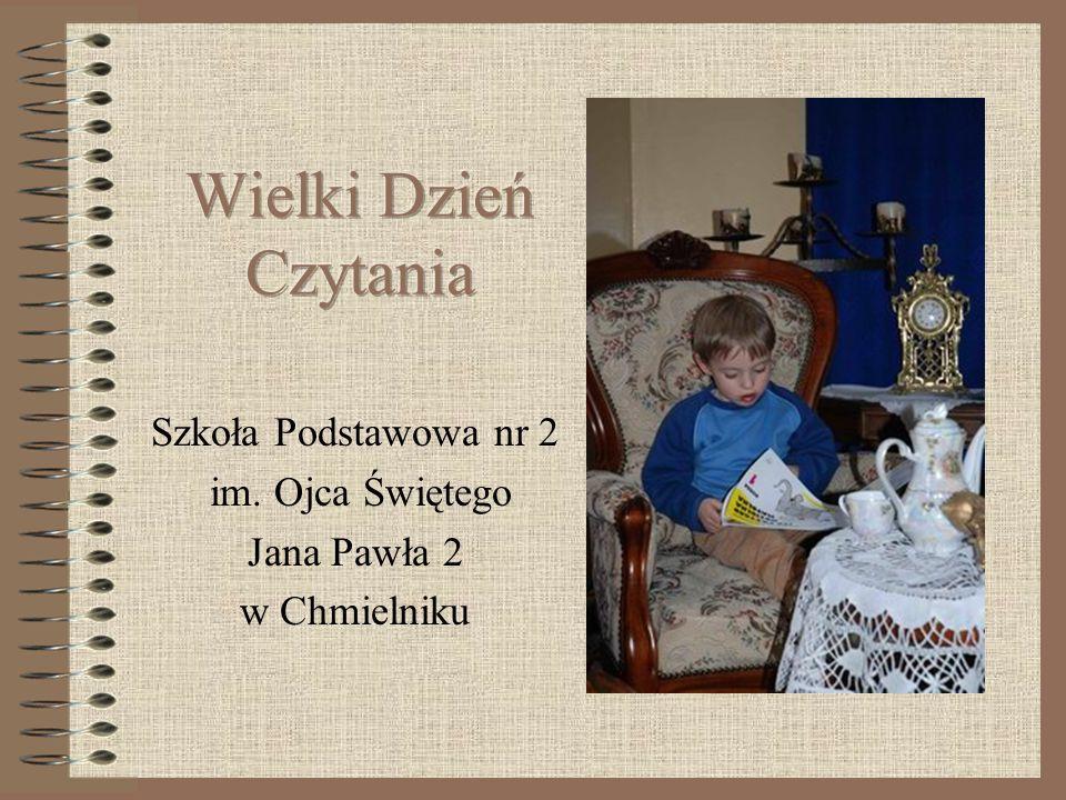 Szkoła Podstawowa nr 2 im. Ojca Świętego Jana Pawła 2 w Chmielniku