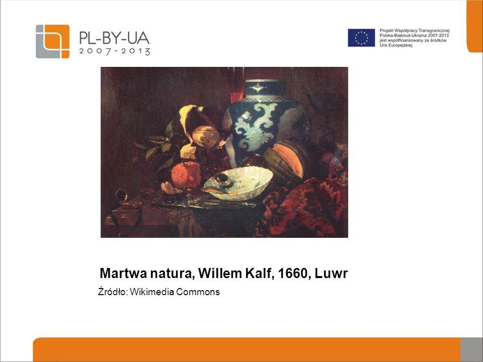 Martwa natura, Willem Kalf, 1660, Luwr Źródło: Wikimedia Commons