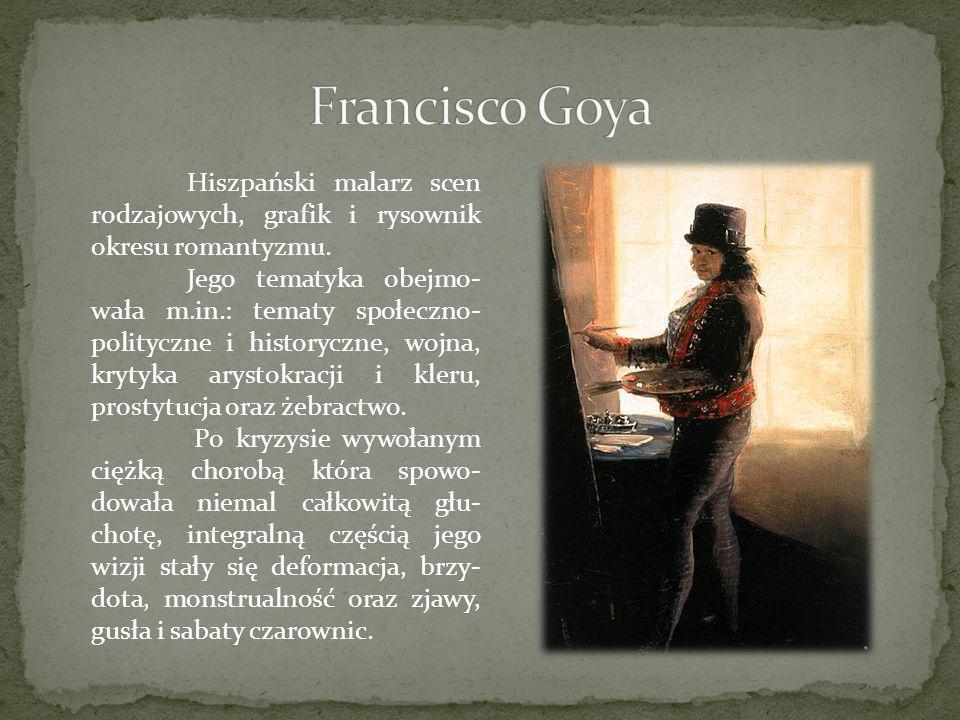 Hiszpański malarz scen rodzajowych, grafik i rysownik okresu romantyzmu. Jego tematyka obejmo- wała m.in.: tematy społeczno- polityczne i historyczne,