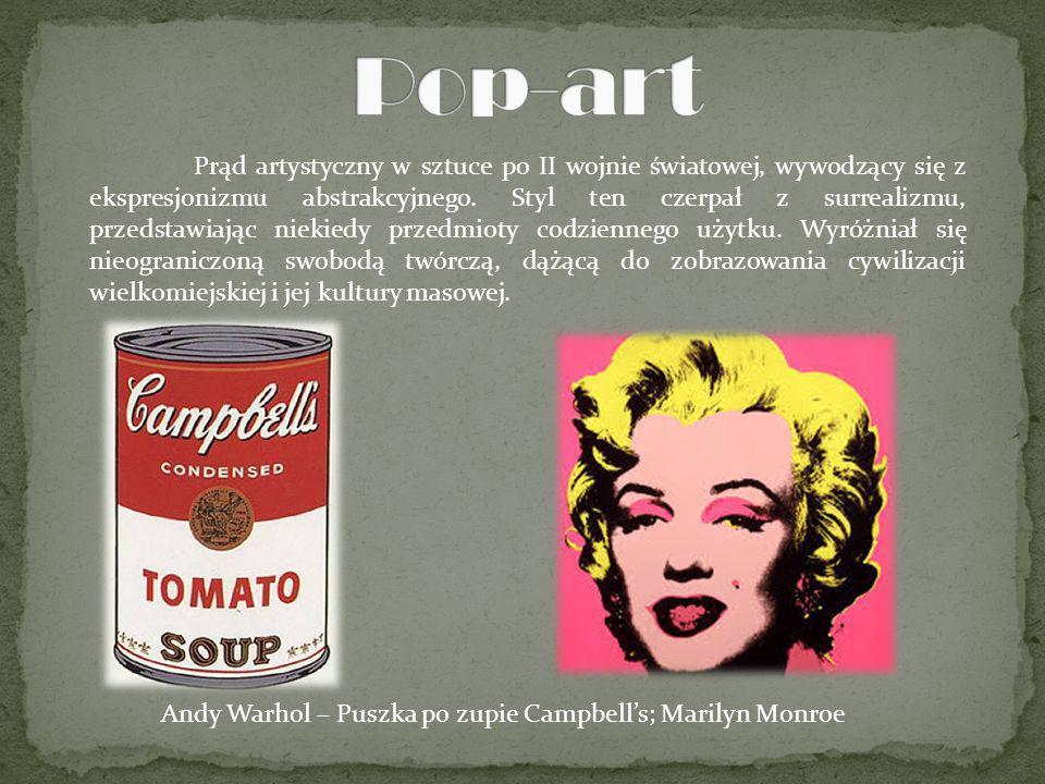 Prąd artystyczny w sztuce po II wojnie światowej, wywodzący się z ekspresjonizmu abstrakcyjnego. Styl ten czerpał z surrealizmu, przedstawiając niekie