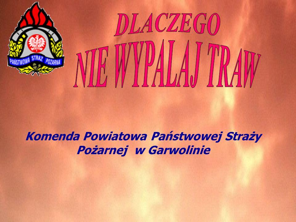 Komenda Powiatowa Państwowej Straży Pożarnej w Garwolinie