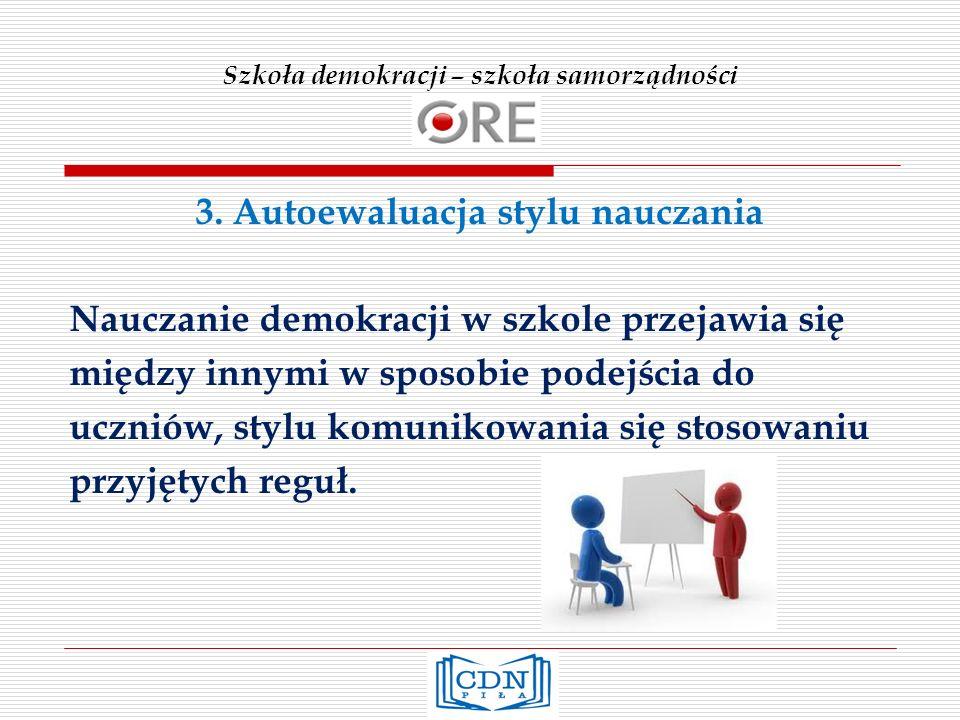 Szkoła demokracji – szkoła samorządności 3.