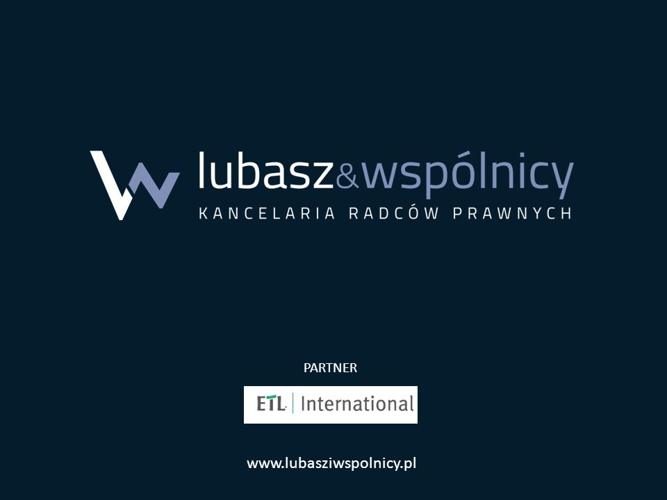www.lubasziwspolnicy.pl PARTNER