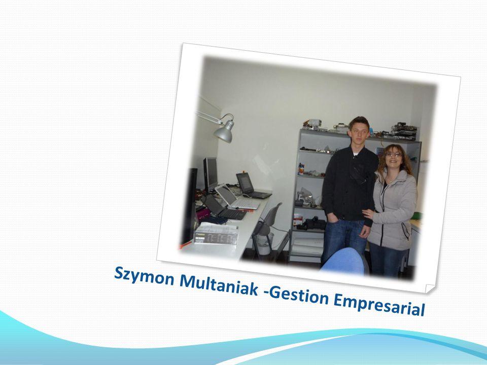 Szymon Multaniak -Gestion Empresarial