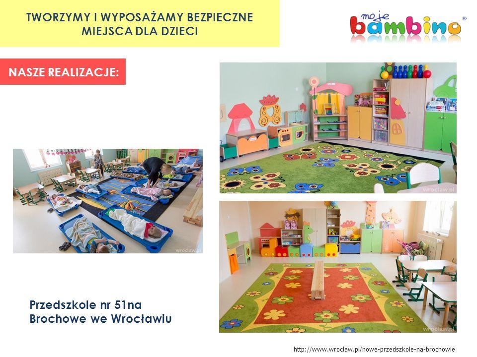 TWORZYMY I WYPOSAŻAMY BEZPIECZNE MIEJSCA DLA DZIECI NASZE REALIZACJE: Oddział przedszkolny Krasnalki w Bobrownikach http://bedzin.naszemiasto.pl/artykul/galeria/jest-wiecej-miejsc-w-przedszkolu-w-gminie-bobrowniki,2192230,t,id.html