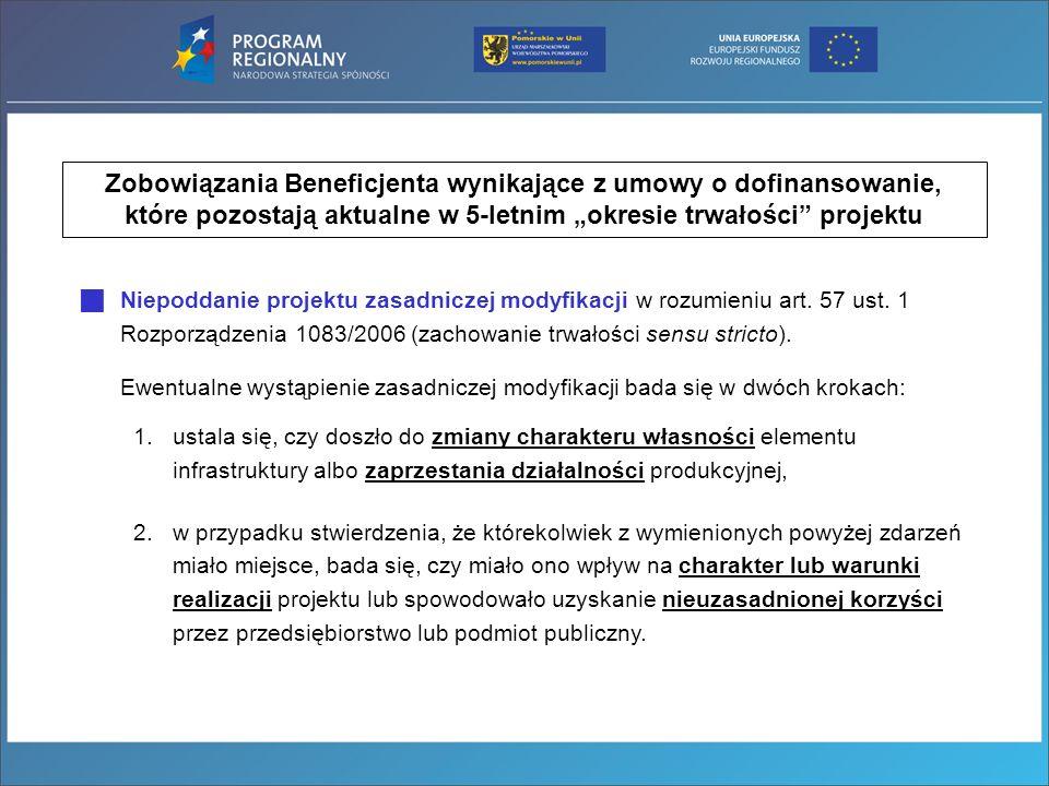 Wypełnienie pozostałych zobowiązań wynikających z umowy o dofinansowanie, a w szczególności zapewnienie, że dofinansowanie nie zostało wykorzystane niezgodnie z przeznaczeniem albo pobrane w nadmiernej wysokości: został zachowany cel projektu (m.in.