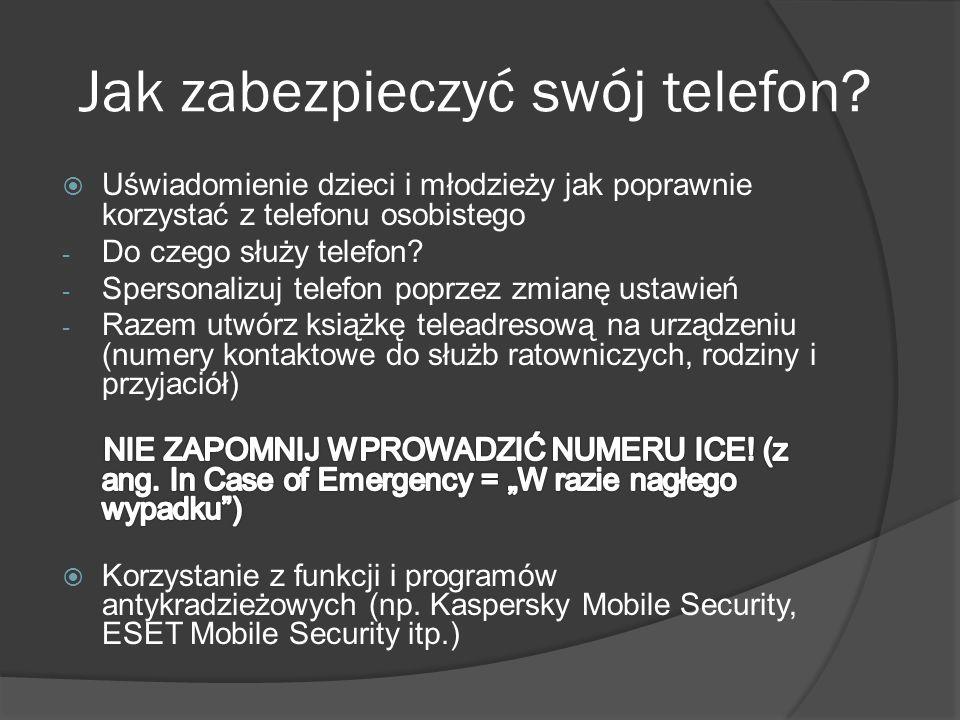 Jak zabezpieczyć swój telefon?