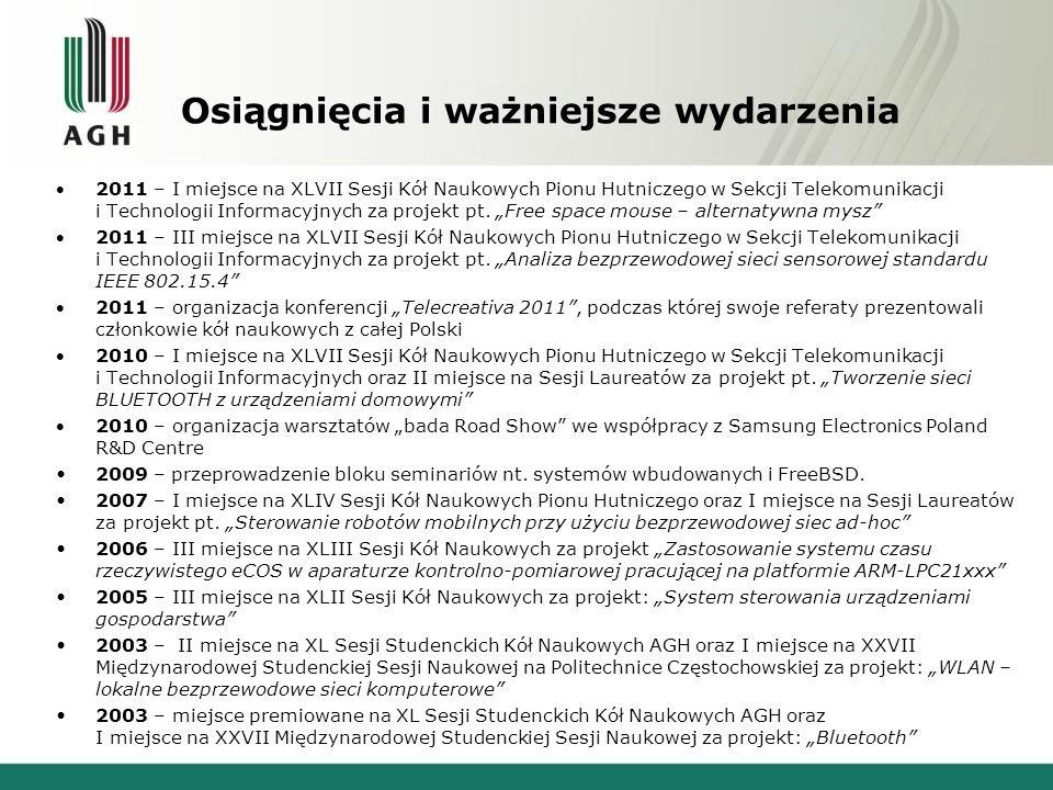 Koło Naukowe Telephoners Zapraszamy na stronę internetową Koła: http://kolo.kt.agh.edu.pl