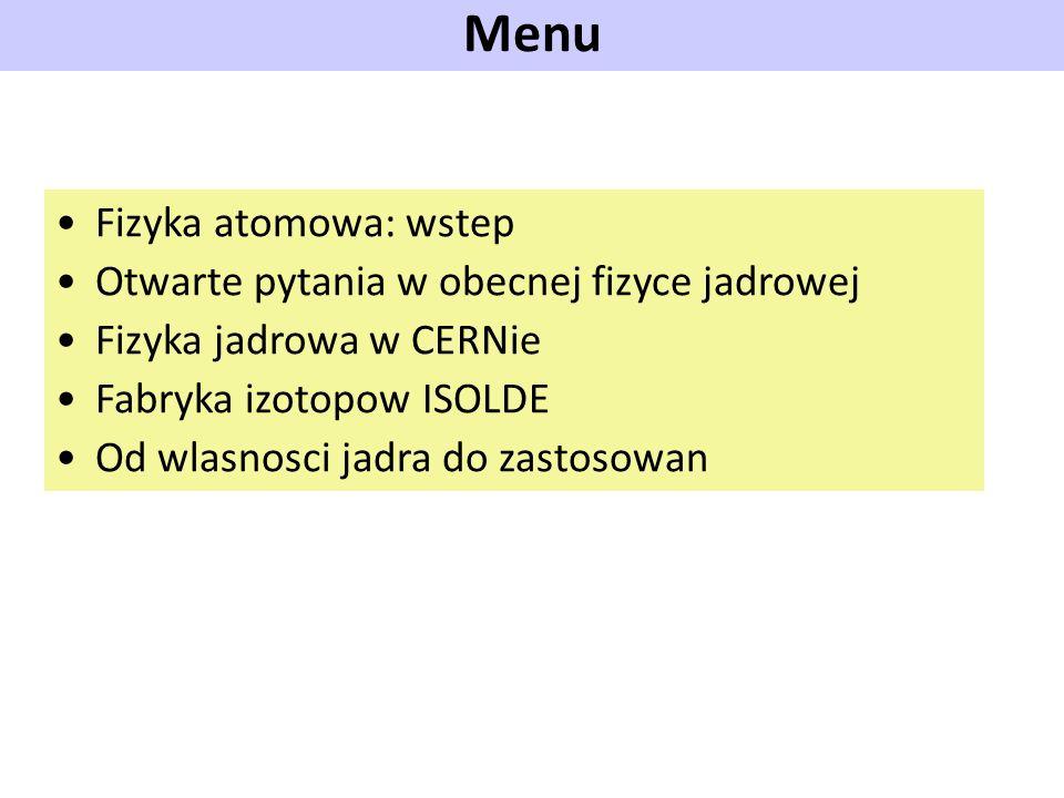 Produkcja izotopow na ISOLDE ISOTOPE production