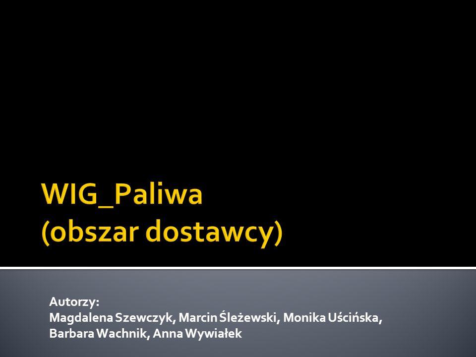 Autorzy: Magdalena Szewczyk, Marcin Śleżewski, Monika Uścińska, Barbara Wachnik, Anna Wywiałek