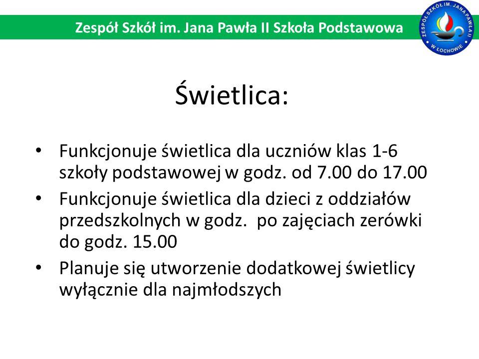 Świetlica: Zespół Szkół im.