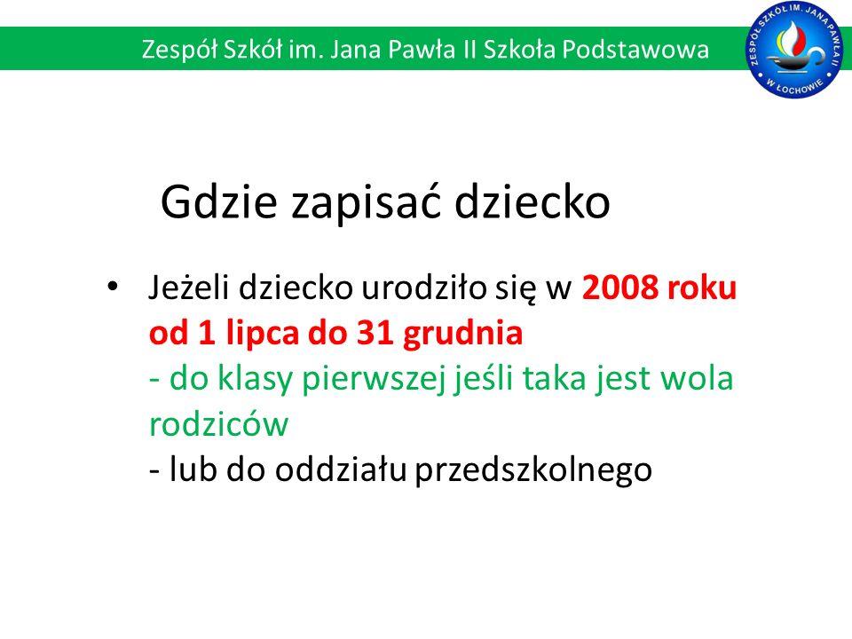 Wykfalifikowana i doświadczona kadra pedagogiczna Zespół Szkół im. Jana Pawła II Szkoła Podstawowa