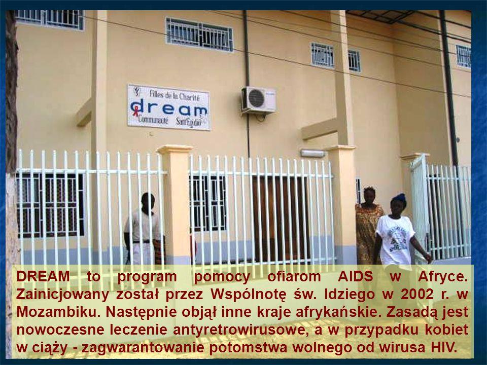 Entrée DREAM to program pomocy ofiarom AIDS w Afryce.