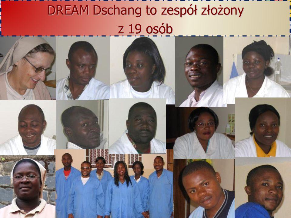 DREAM Dschang to zespół złożony z 19 osób