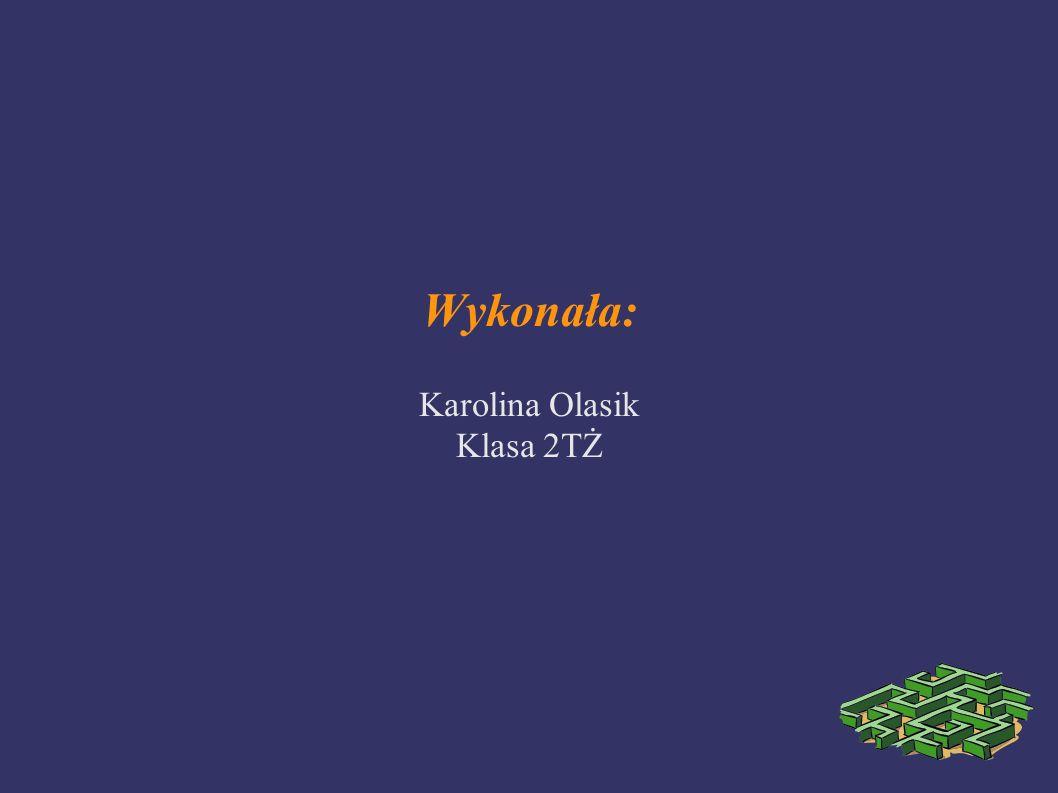 Wykonała: Karolina Olasik Klasa 2TŻ