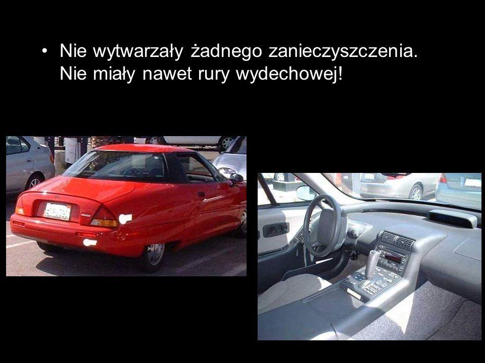 A zatem: Jak to jest, że auta te nie są promowane na świecie.
