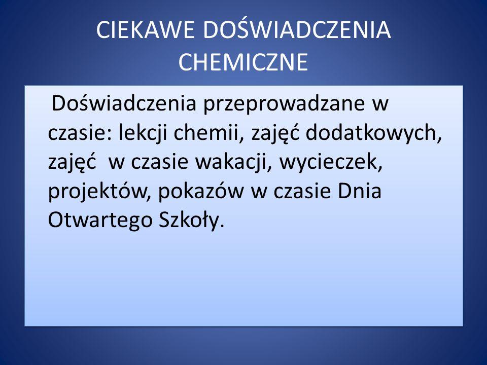 chemiczna piana