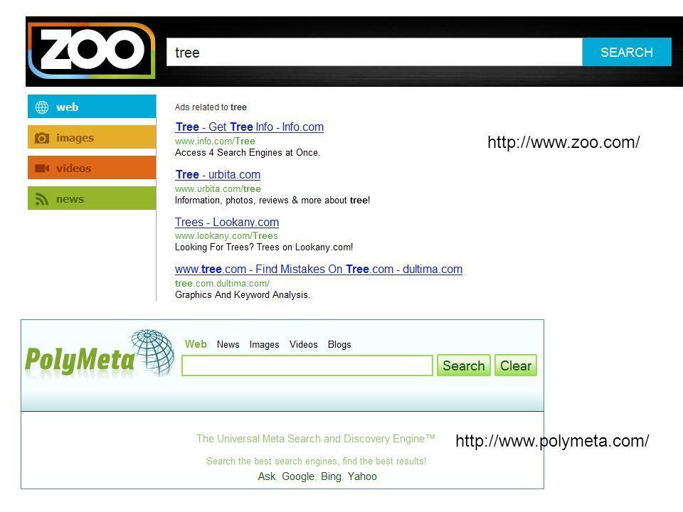http://www.zoo.com/ http://www.polymeta.com/