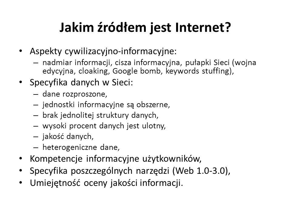 Jakim źródłem jest Internet.