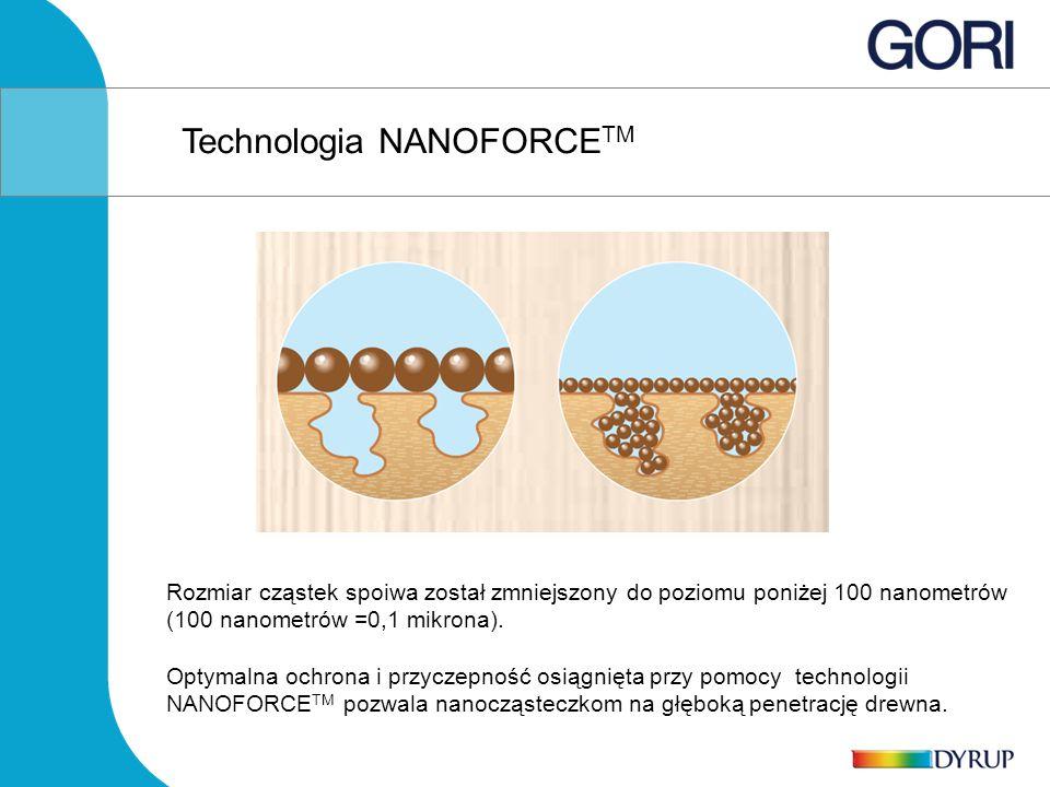 Rozmiar cząstek spoiwa został zmniejszony do poziomu poniżej 100 nanometrów (100 nanometrów =0,1 mikrona).