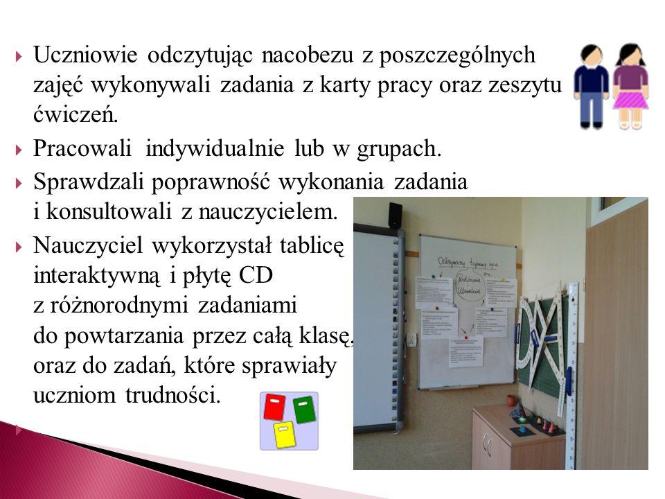 Uczeń utrwalał i powtarzał wiedzę w sposób systematyczny i uporządkowany.